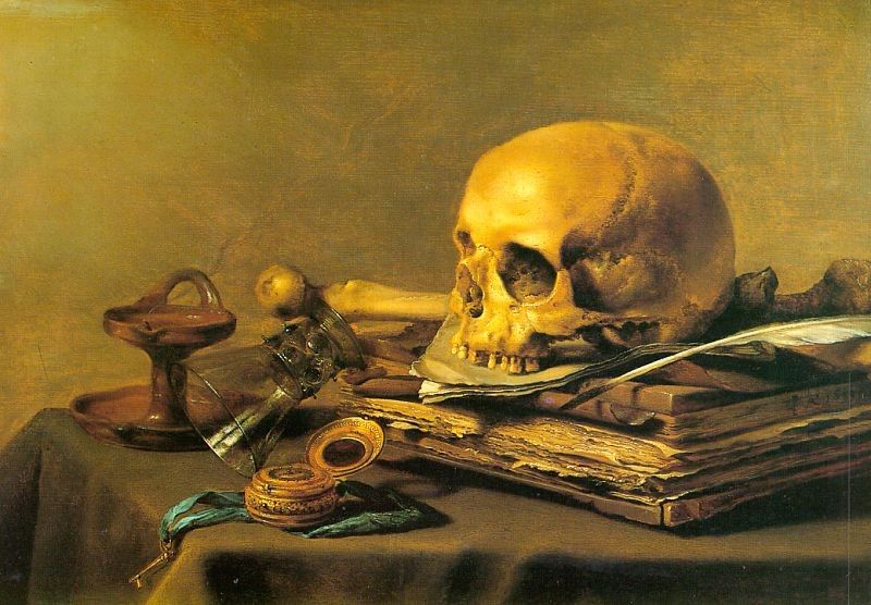Unknown Vanitas Still Life
