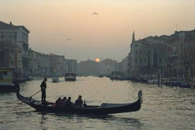 Unknown venice sunset