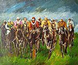 Horse Racing paintings - hosr04 by Unknown