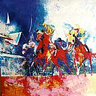 Horse Racing paintings - hosr06 by Unknown