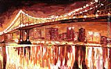 Unknown BROOKLYN BRIDGE painting