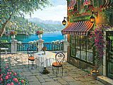 Unknown Bellagio Memories painting