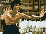 Unknown Bruce Lee painting