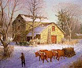 Unknown Clime The Stone Mill Ice House painting