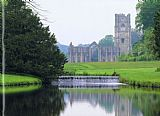 Unknown Fountains Abbey 2 painting