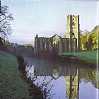 Unknown Fountains Abbey painting