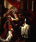 Unknown Holy Communion of St Teresa of Avila by Claudio Coello painting
