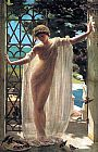 Unknown John Reinhard Weguelin Lesbia painting