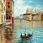 Venice paintings - KNI-067 by Unknown
