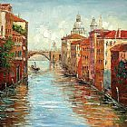 Venice paintings - KNI-071 by Unknown