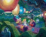 Unknown MAD HATTER'S TEA PARTY painting