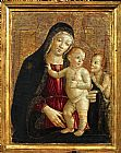 Unknown Madonna con Bambino e San Giovannino by Bartolo painting