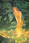 Unknown Mid-Summer's Eve by Edward Robert Hughes painting