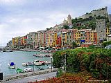 Venice paintings - Portovenere Italian Riviera by Unknown