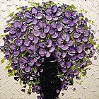 Unknown Purple Floral painting