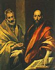 Unknown The Apostles Peter and Paul painting