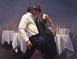 Dancer paintings - The Last to Leave Hamish Blakely by Unknown