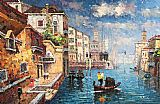 Venice paintings - V007 by Unknown