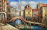 Venice paintings - V009 by Unknown