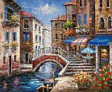 Venice paintings - V010 by Unknown