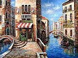 Venice paintings - V013 by Unknown