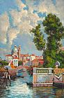 Venice paintings - V020 by Unknown