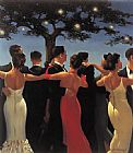 Unknown Vettriano Waltzers painting