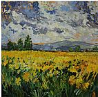 Unknown Yellow Field painting
