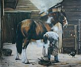 Unknown horse painting
