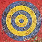 Unknown jasper johns Target painting