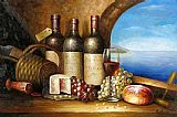 Wine paintings - wai02 by Unknown