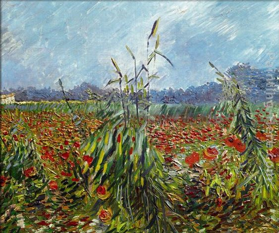 Vincent van Gogh Field with Poppies 2