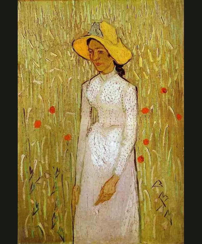 Vincent van Gogh Girl in White