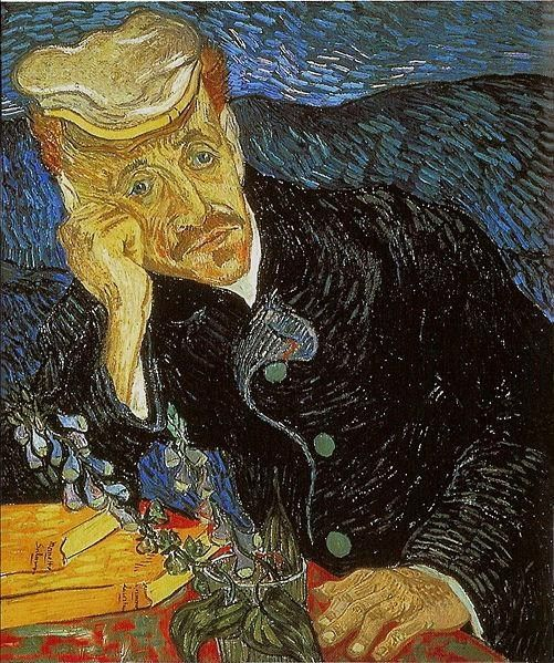 Vincent van Gogh Portrait of Dr. Gachet