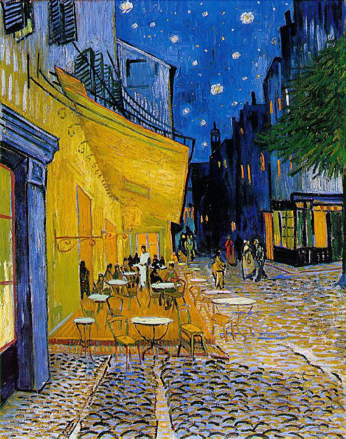 Vincent van Gogh The Cafe Terrace