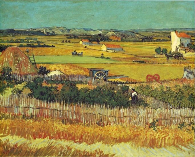 Vincent van Gogh The Harvest Arles