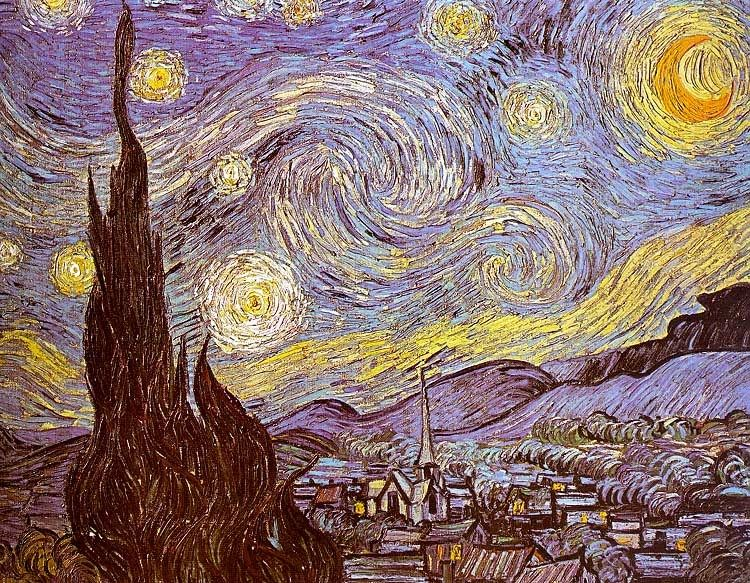 Vincent van Gogh The Starry Night Saint-Remy