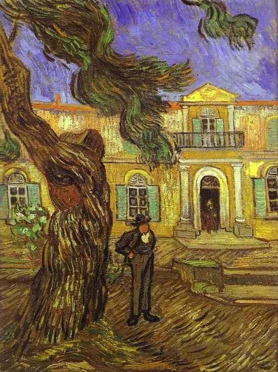 Vincent van Gogh Tree and Man