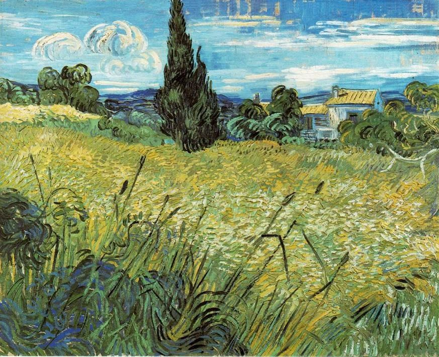 Vincent van Gogh Wheat Field 1889