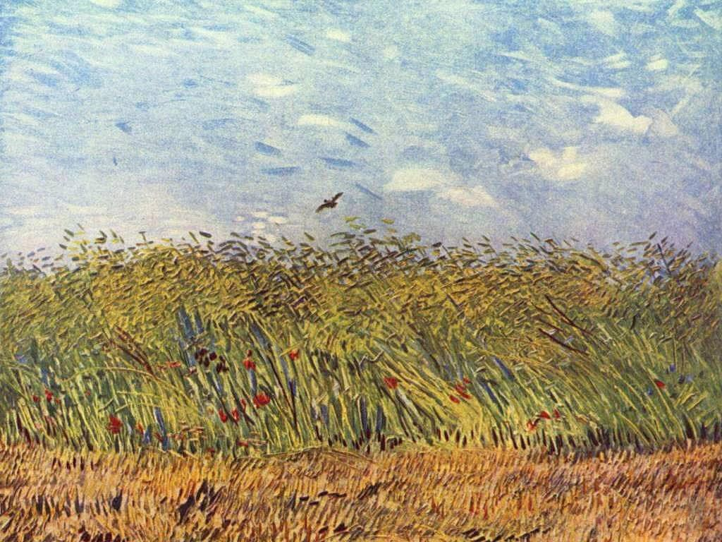 Vincent van Gogh Wheatfield with a Lark