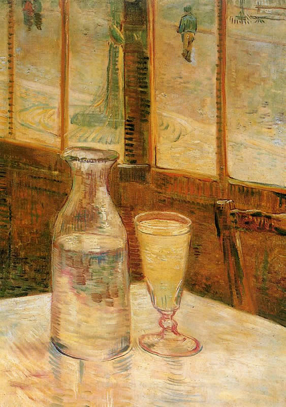 Vincent van Gogh with Absinthe