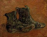 Vincent van Gogh A Pair of Shoes 1 painting
