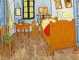 Vincent van Gogh Bedroom Arles painting