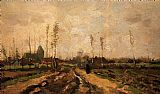 Vincent van Gogh Landscape with Church and Farms painting
