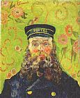 Vincent van Gogh Portrait of the Postman Joseph Roulin painting
