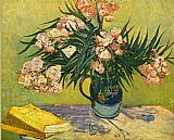 Vincent van Gogh Still Life with oleander painting