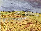 Vincent van Gogh The Plain at Auvers painting