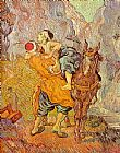 Vincent van Gogh The good Samaritan Delacroix painting