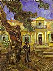 Vincent van Gogh Tree and Man painting