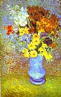 Vincent van Gogh Vase with Daisies and Anemones painting